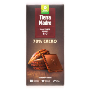 tableta de chocolate 70% Tierra Madre de Oxfam Intermón