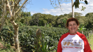 Lourdes productora de Nicaragua