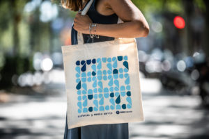 bolsa de algodón de comercio justo